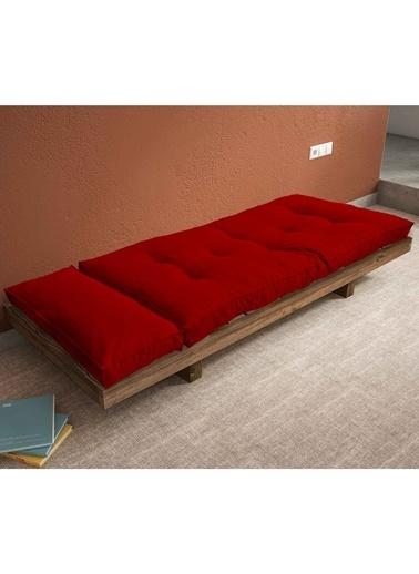 Woodesk Arin Masif Ceviz-Yeşil Renk Sedir Kırmızı